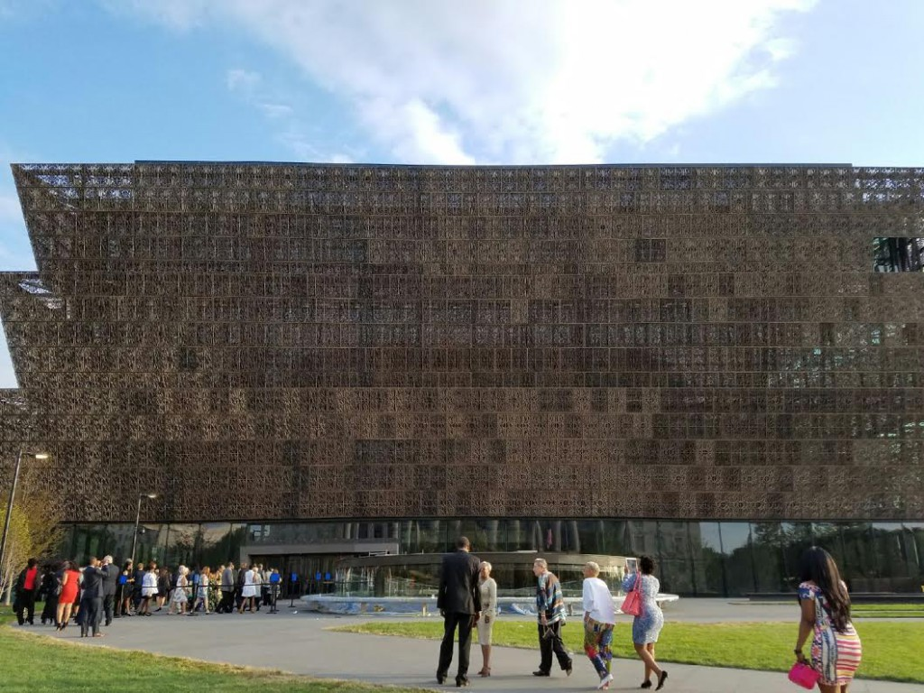 NMAAHC outside